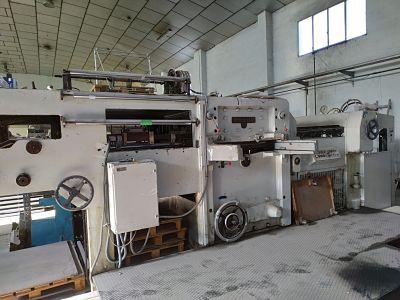 Troqueladora automática con stamping