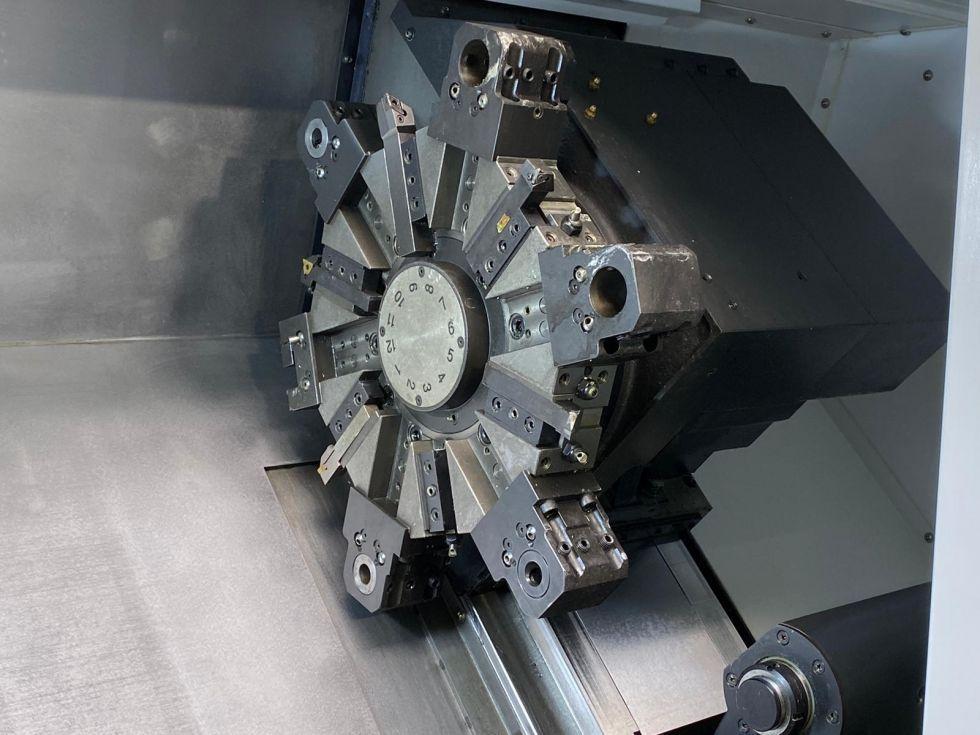 WIA Hyundai CNC Lathe HD 2200 Ø 550 x 565 mm 5465 = Mach4metal