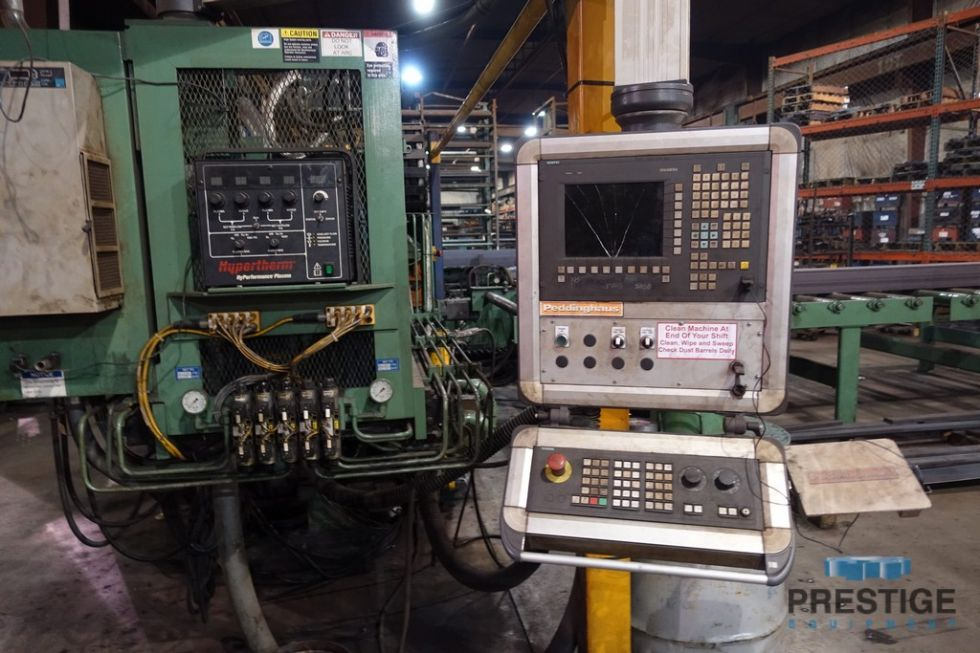 Peddinghaus FPB-1800/3 Punch/Plasma Plate Fabricator