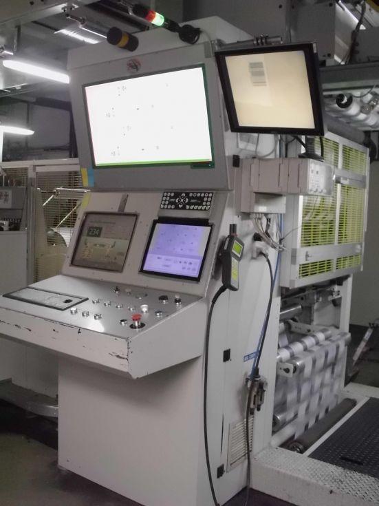 Impresora flexografica Gearless