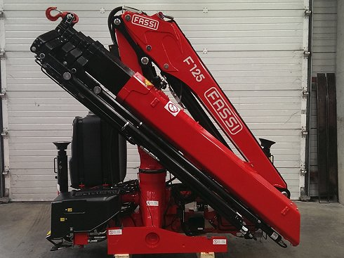 Grúa Fassi F125A.2.25xe-dynamic