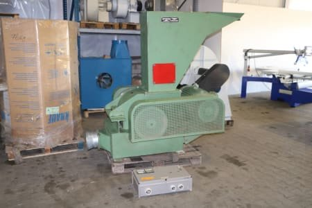 Trituradora de madera SPOERRI 370 K SWT