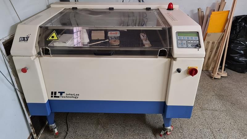 Laser de marcación y corte de tejidos