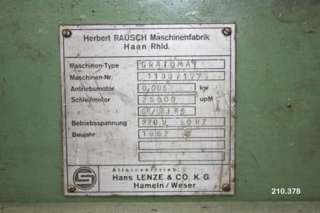Desbarbadora de engranajes HERBERT RAUSCH GRATOMAT