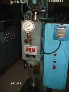Prensa hidráulica LBM B-4