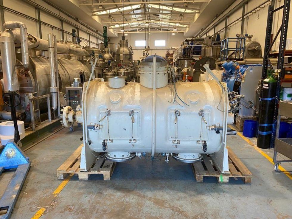 Mezclador lödige fkm 2000d acero inoxidable 316 2.000 litros