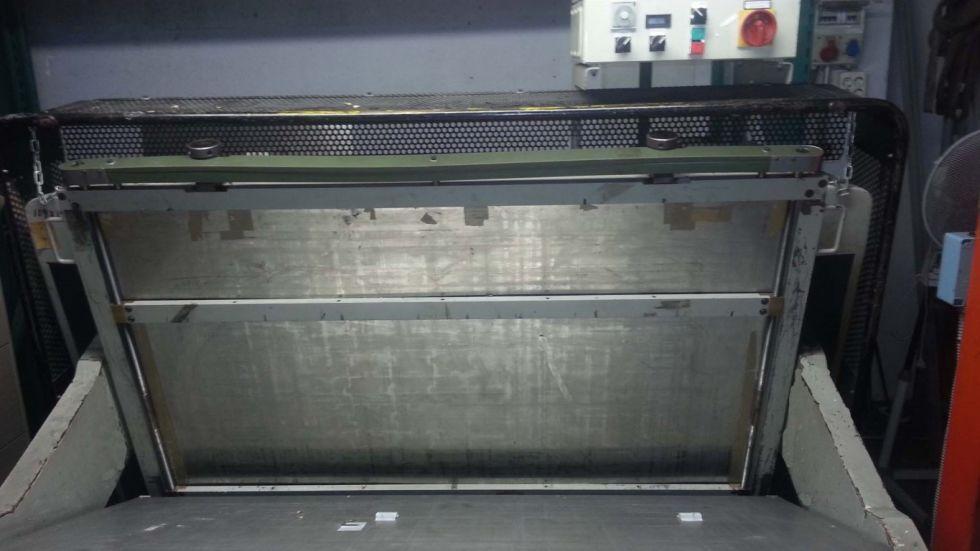 Troqueladora manual de platina