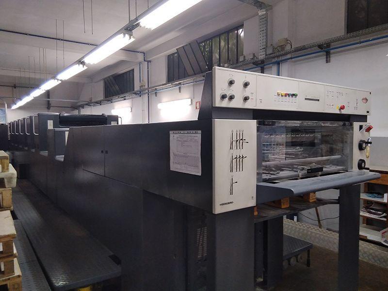 Impresora offset de 6 colores