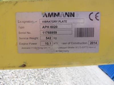 AMMANN APF 6020 Vibratoy Plate