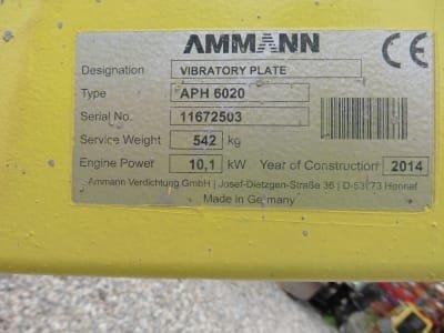 AMMANN APH 6020 Vibratoy Plate