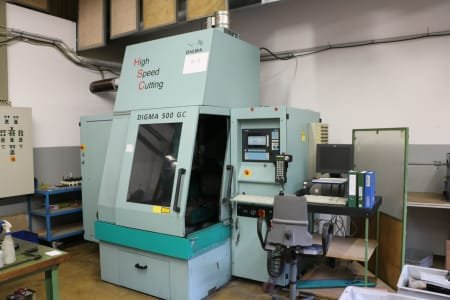 DIGMA 500 GC High-Speed Machining Centre