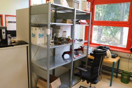 Workshop Shelving with Contents