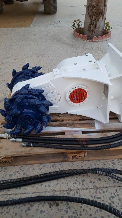 Fresadora hidraulica o zanjadora