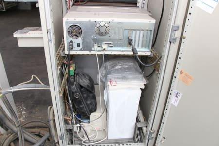 Línea de producción de ventanas flexible con plegadora automática y juego de herramientas SCM System 4S+ Kontur + OERTLI IV92