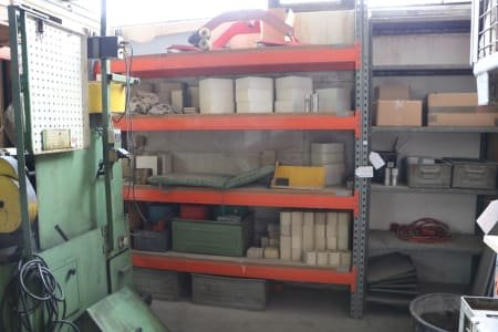 Lot Workshop Shelvings without Contents