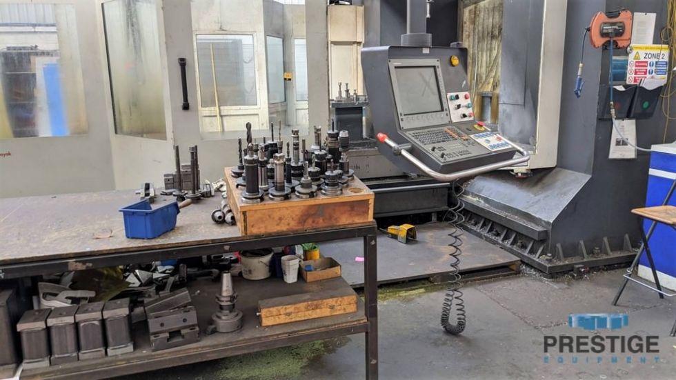 Fresadora CNC tipo puente