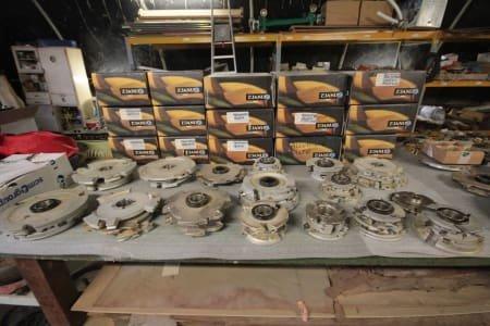 ZUANI Lot of Milling Tools