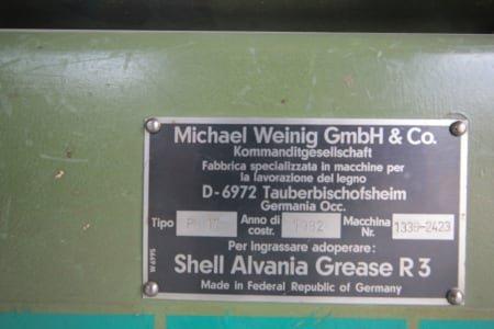 WEINIG UNIMAT 17 Profile grinding machine