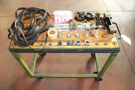 Lot of tools for winding machine
