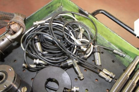 Lot of tools for slot insulation machine