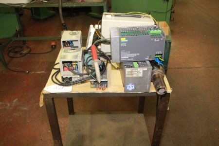Lot of electronic tools