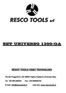 RESCO Lot of milling tools for windows