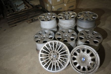 Lot of rims