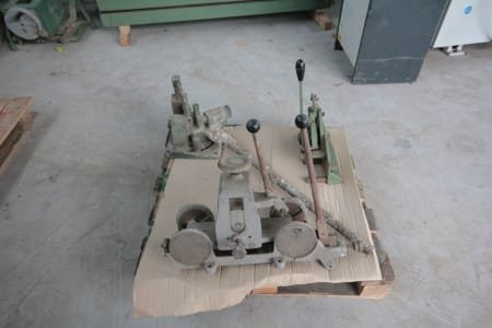 Lot of working site tools