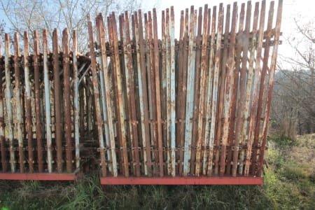 Lot of scaffoldings
