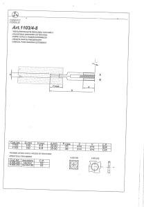 RESCO 1103/4-8 Milling Tool