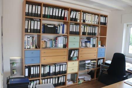 Open Filing Shelf