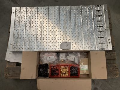Aluminium Clamping plate with quick clamping system