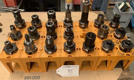 MAS BT 40 Lot of Tool Holders