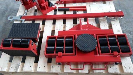 Machinery Heavy Transport Trolleys 24.000 kg