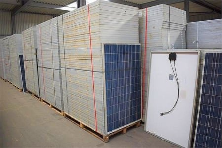 LDK / CANADIAN SOLAR LDK-230P-20 / CS6P-225P 225.60KWp Polycrystalline solar modules