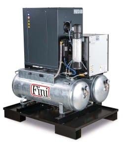 Compresor de tornillo FINI DUO-MICRO SE 4.0-10 2x100 KK
