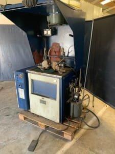 Máquina para Comprobación de Fisuras y grietas en Cigüeñales y ejes.