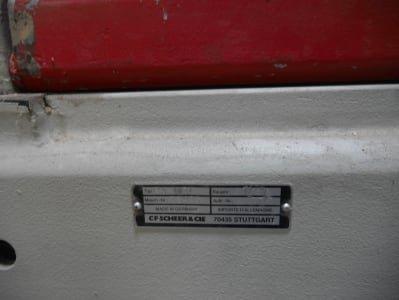 Seccionadora SCHEER PA 4131