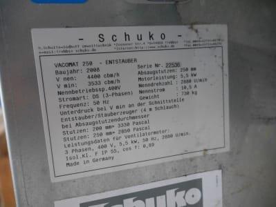 Sistema de extracción SCHUKO Vacomat 250