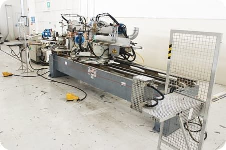 ESSEPIGI RAPID 3000 Double Cut-off Machine