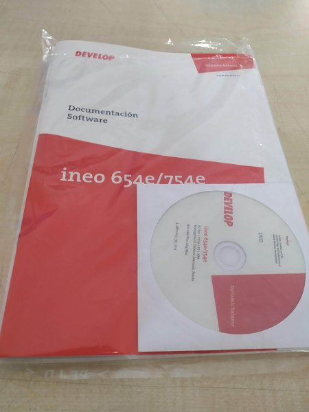 Prensa de color DEVELOP INEO 6000 y Fotocopiadora de Blanco y negro DEVELOP INEO 654E