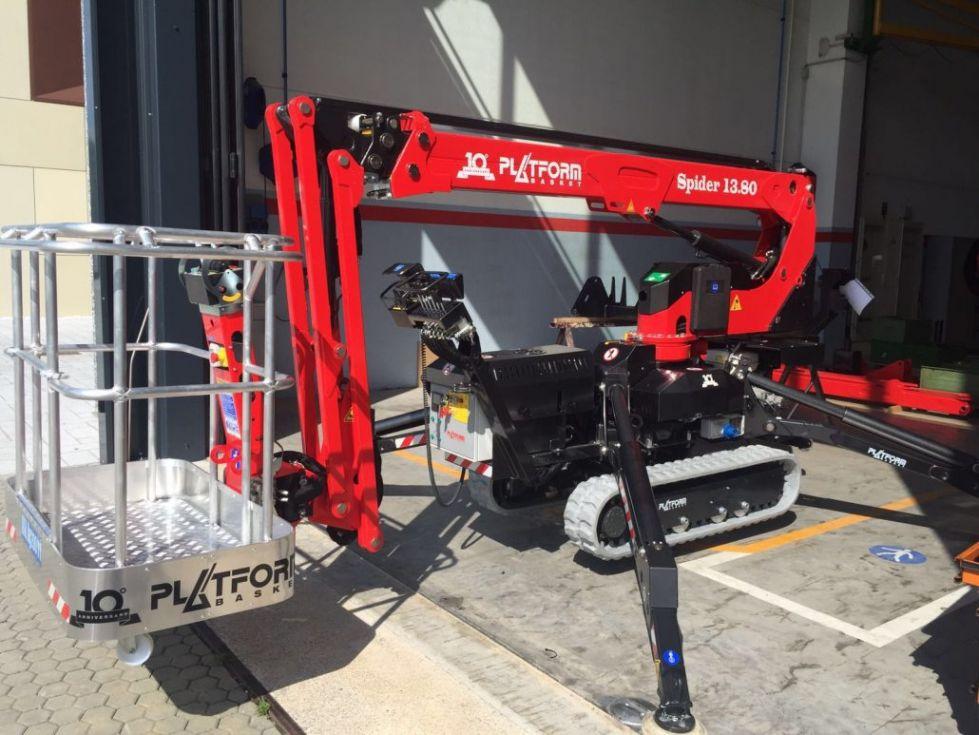 Plataforma Aerea Oruga 13Mt Basket 13,8Mt