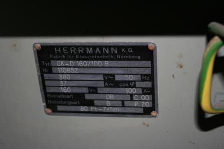 HERMANN GK-D 160/100 B Battery Charger