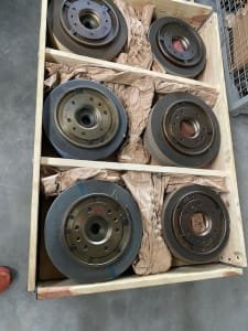 12 pieces Harmonic Wheel Flanges with Grinding Stones (different modules)