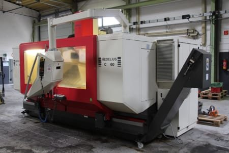 HEDELIUS C 60-2000 3-Axis Moving Column Machining Centre
