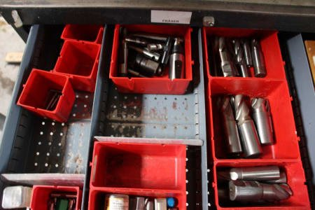 Tool Drawer Cabinet with Contents