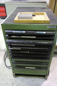 BEDRUNKA & HIRTH Tool Drawer Cabinet with Contents