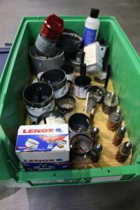 Lot Hole Saws/Core Drills