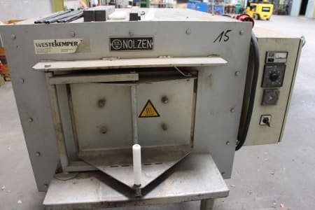 NOLZEN TH 40/25/60 Electric Singlechamber Hardening Furnace