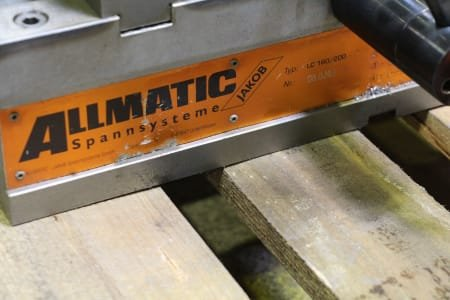 ALLMATIC LC 160/200 NC Vice